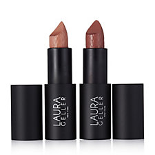 Laura Geller Iconic Baked Sculpting Lipstick Duo