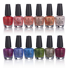 OPI 12 Piece Mini New Orleans Nail Lacquer Collection