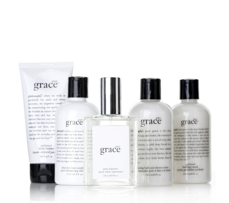 Philosophy 5 Piece Luxury Grace Collection