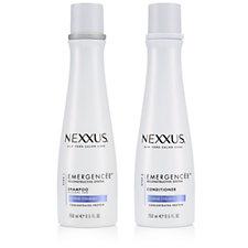 Nexxus 2 Piece Emergencee Reconstructive Shampoo & Conditioner 250ml