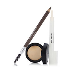 Laura Geller 3 Piece All About Brows Cosmetics Collection