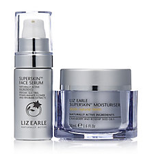 Liz Earle Superskin Moisturiser 50ml with Superskin Face Serum 10ml
