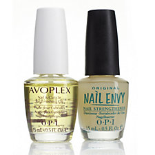 OPI 2 Piece Perfect Partners Nail Envy & Avoplex Oil