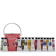 232324 - L'Occitane 14 Piece Hand Cream In a Bucket Collection