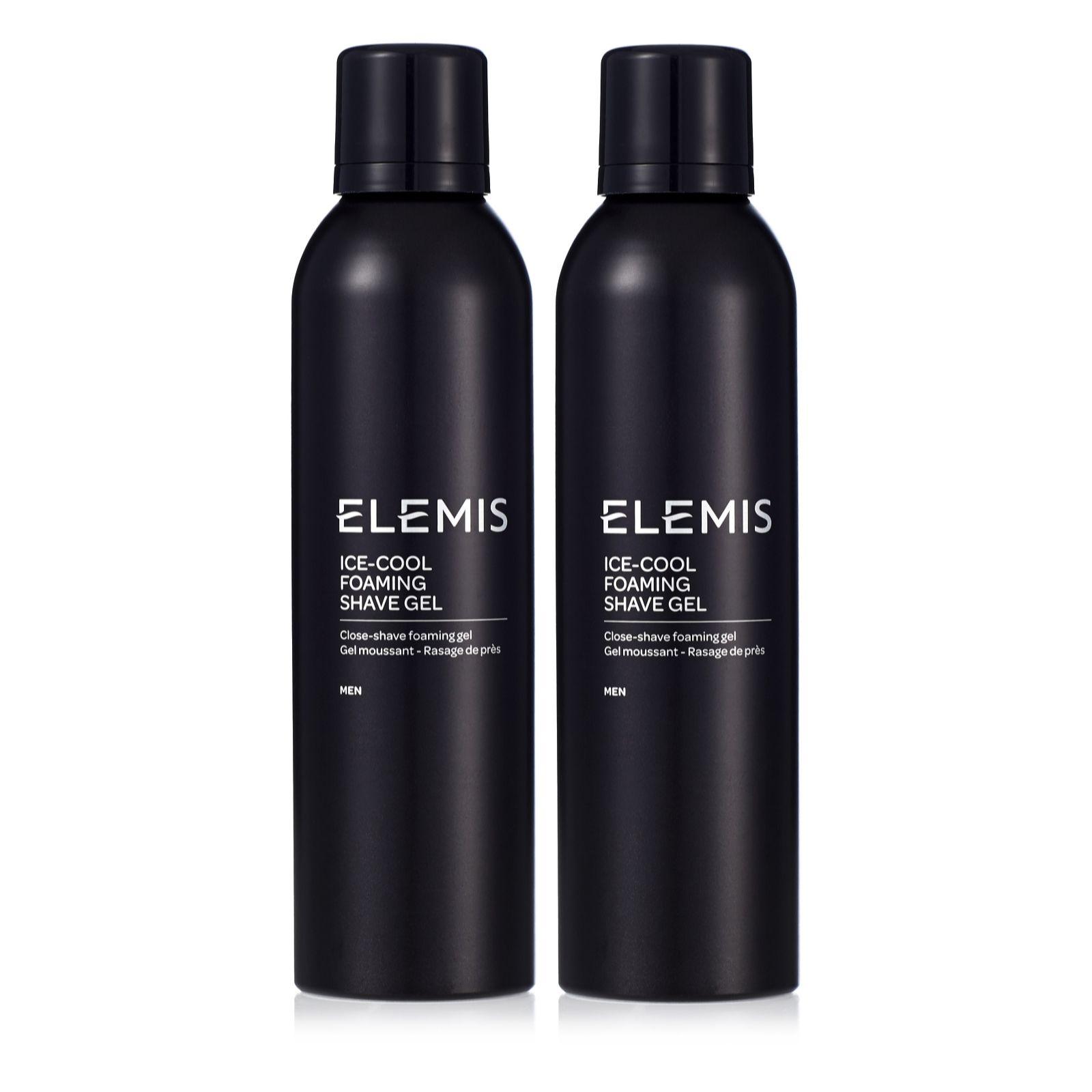 Elemis Ice Cool Foaming Shaving Gel Duo 200ml Page 1 QVC UK
