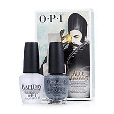 OPI 2 Piece Alice Signature Shade & Rapi Dry Top Coat