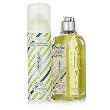 L'Occitane 2 Piece Cooling & Smoothing Verbena Collection