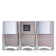 Nails Inc 3 Piece Nude Nailcare Collection