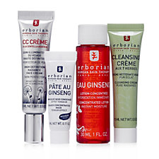 223326 - Erborian 4 Piece Cleanse, Boost & Refine Discovery Kit