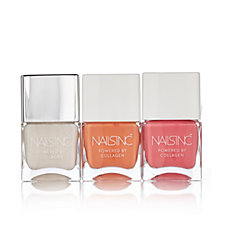Nail Inc 3 Piece Neon & Nude Collection