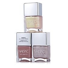 Nails Inc 3 Piece Champagne Nails Collection