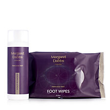 Margaret Dabbs London Soothing Foot Powder & Foot Cleansing Wipes