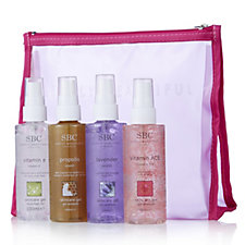 SBC 4 Piece Skincare Gel Discovery Collection