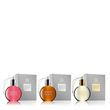 231729 - Molton Brown Luxury Body Wash Bauble Trio