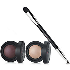 Laura Geller Baked Colour Intense Mono Eyeshadow Duo with Brush