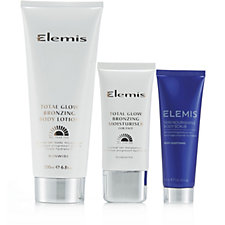 Elemis 3 Piece Total Glow Top To Toe Collection