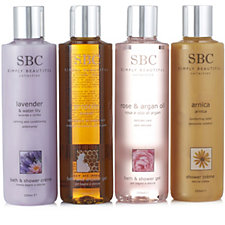 SBC 4 Piece Body Cleansing Solution Collection