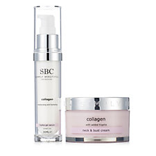 218732 - SBC 2 Piece Collagen Targetted Skincare Collection