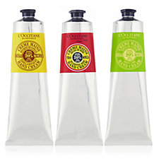212133 - L'Occitane 3 Piece Supersize Hand Cream Trio