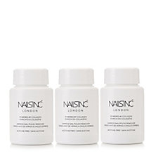 Nails Inc Trio of Coconut Fragranced Nail Polish Remover with Collagen