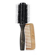 Taya Inner Core Anti Breakage Round Brush & Treatment Comb