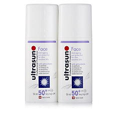 Ultrasun Sun Protection Face SPF 50+ 50ml Duo