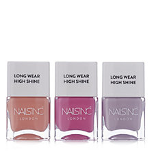 232733 - Nails Inc 3 Piece High Shine Spring Trend