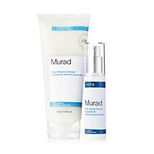 Murad Time Release Cleanser + Anti aging serum