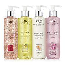 SBC 4 Piece Cleanse and Supercharge Skincare Collection