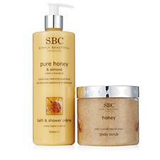 SBC 2 Piece Honey Body Essentials Collection