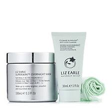 Liz Earle Superskin Overnight Mask & Cleanse & Polish