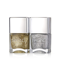 Nails Inc 2 Piece All That Glitters Nailcare Collection
