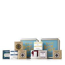 L'Occitane 8 Piece His & Hers Soap Collection with Tins