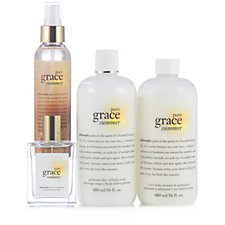 216537 - Philosophy 4 Piece Pure Grace Summer Collection