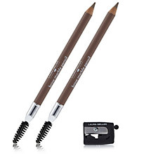 Laura Geller Brow Marble Pencil Duo with Sharpener