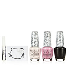 OPI 3 Piece Hello Kitty Sparkle & Shine Nail Collection