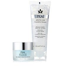 PRAI ARCTIC ICE Crystalline Gel & Masque Duo