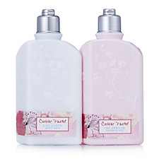 L'Occitane Ceriser Pastel Shower Gel & Body Milk