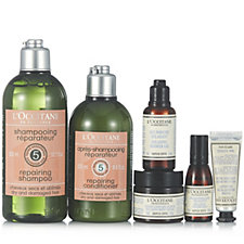 L'Occitane 6 Piece Aromachologie Hair, Body & Mind Collection