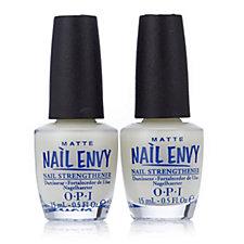 OPI Matte Nail Envy Duo