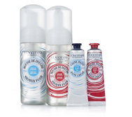 L'Occitane 4 Piece Whipped Shea Shower & Hand Collection