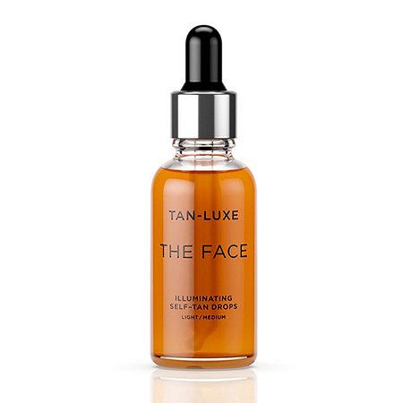 tan luxe illuminating serum self tan facial drops 209244. Black Bedroom Furniture Sets. Home Design Ideas