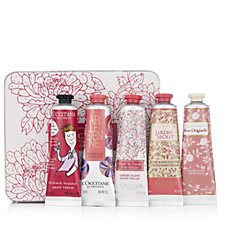 218944 - L'Occitane 5 Piece Happy Floral Hand Cream Collection
