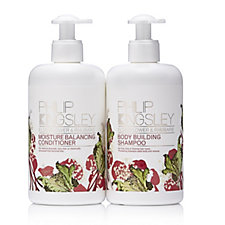 218845 - Philip Kingsley 2 Piece Rhubarb & Elderflower Shampoo & Conditioner 500ml
