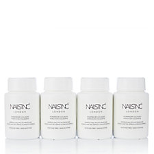 Nails Inc 4 Piece Coconut Fragranced Nail Polish Remover With Collagen