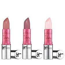 IT Cosmetics Vitality Flush Lipstick Trio