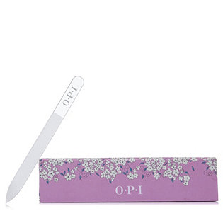 OPI Crystal Nail File with Floral Holder