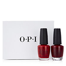 OPI 2 Piece Malaga Wine & Big Apple Red Collection