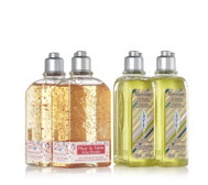 L'Occitane 4 Piece Verbena & Cherry Blossom Shower Gels