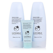 Liz Earle Body Wash 200ml Duo With 50ml Botanical Shine Shampoo